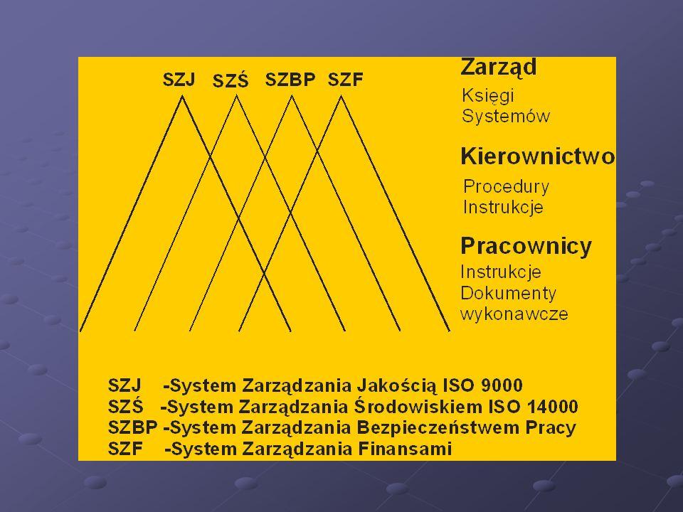 Zintegrowane systemy zarządzania (8) Dr hab. inż. Ryszard NOWOSIELSKI Prof. Pol. Śl.