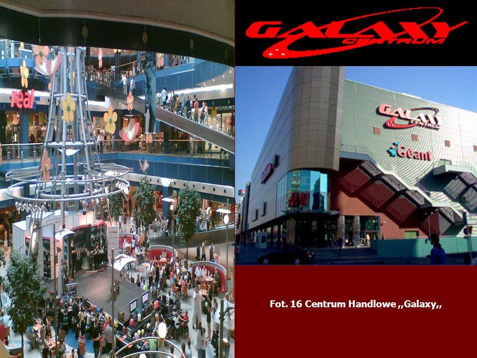 Fot. 16 Centrum Handlowe,,Galaxy,,