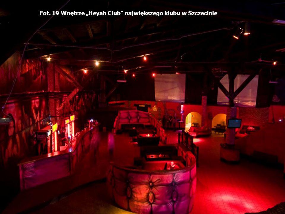 Fot. 19 Wnętrze Heyah Club największego klubu w Szczecinie