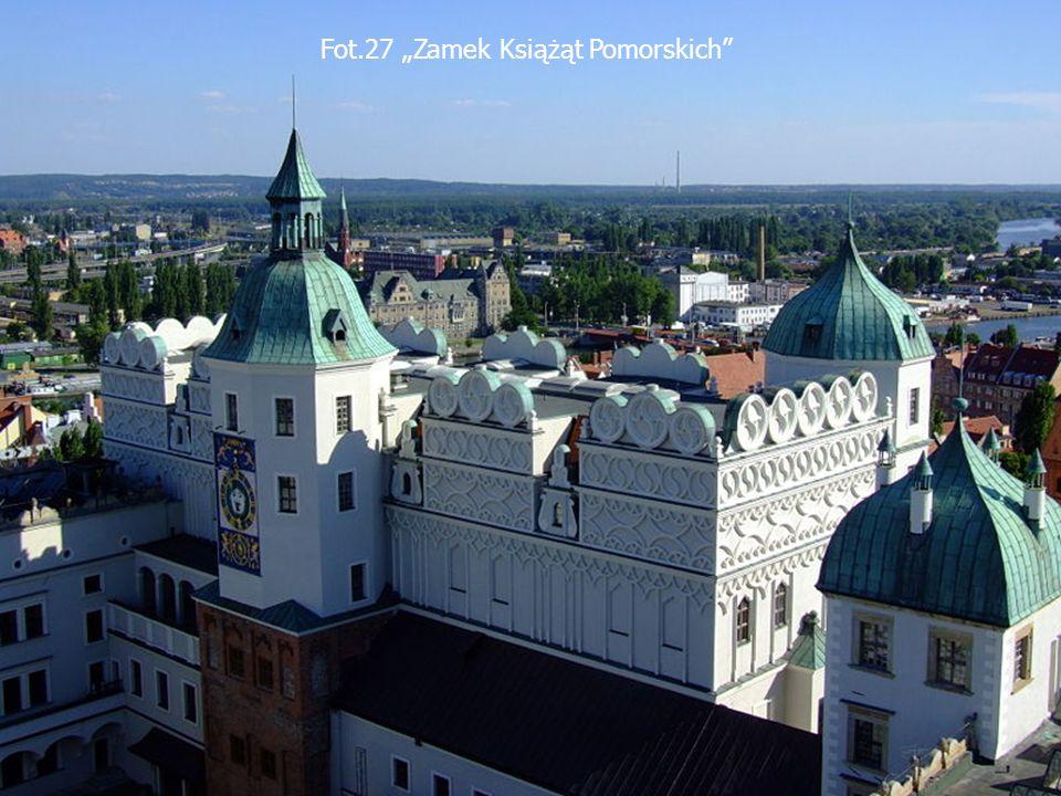Fot.27 Zamek Książąt Pomorskich