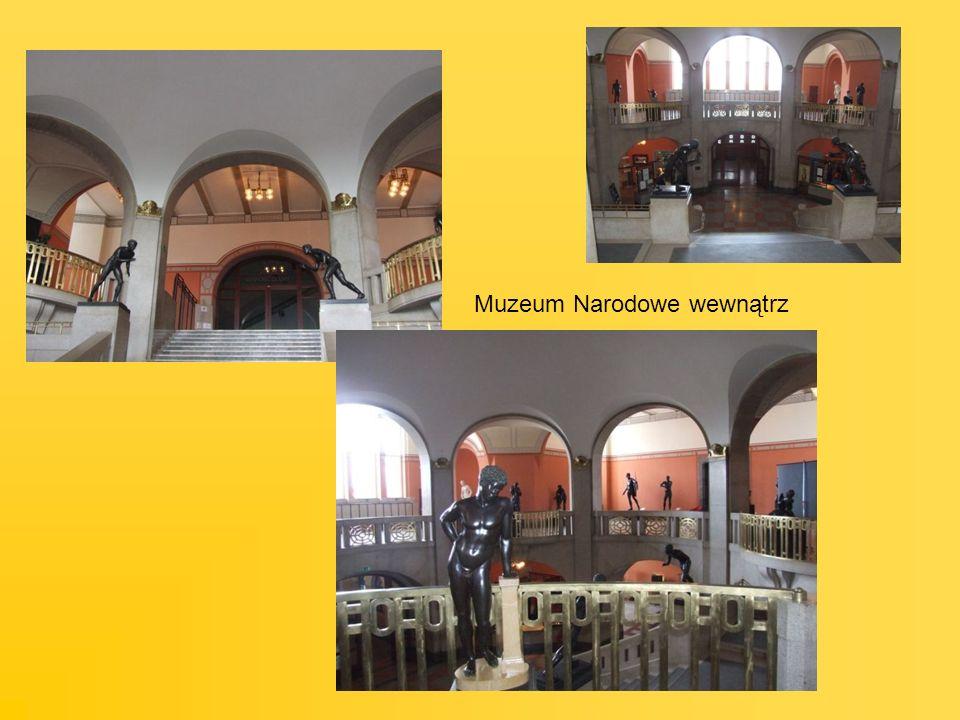 Muzeum Narodowe wewnątrz