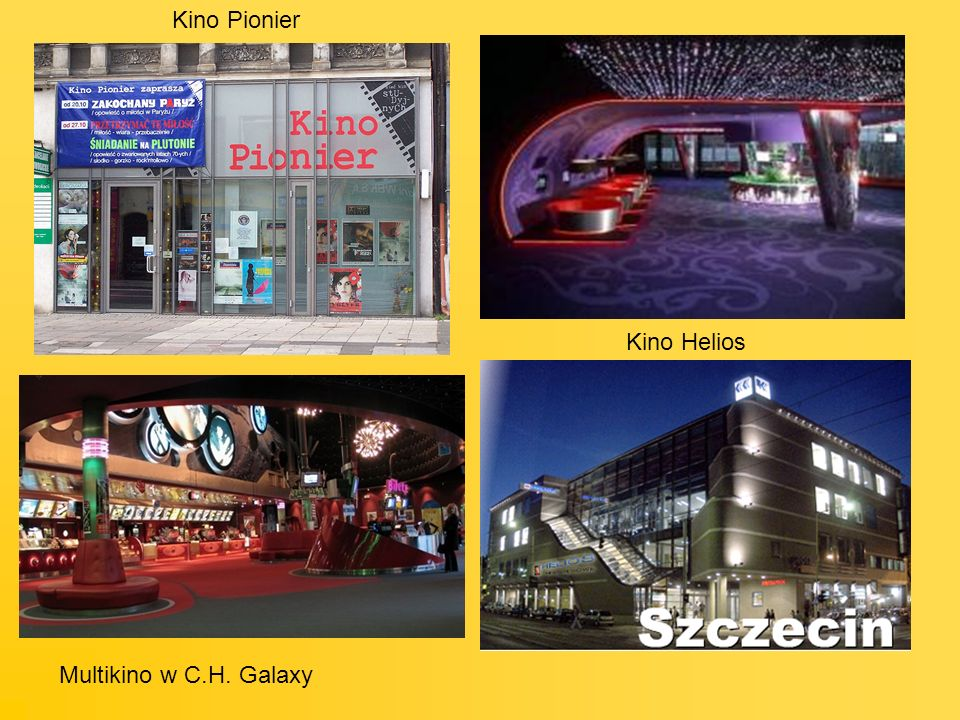 Kino Helios Multikino w C.H. Galaxy Kino Pionier