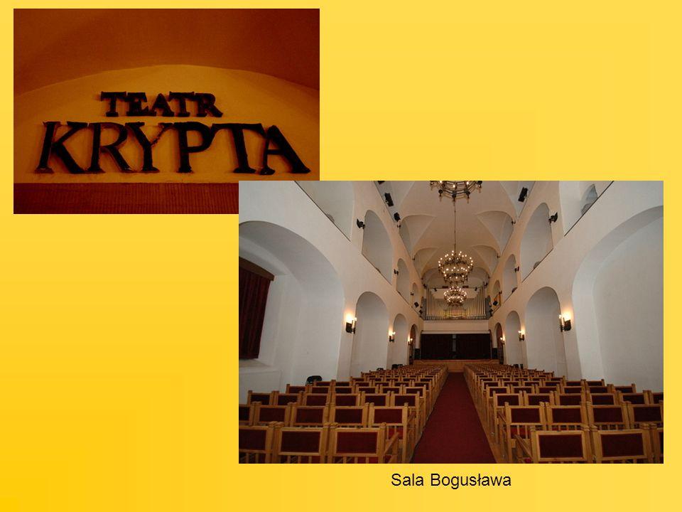Z prawej: wnętrze Filharmonii Szczecińskiej Na dole: Projekt budynku przyszłej Filharmonii Szczecińskiej