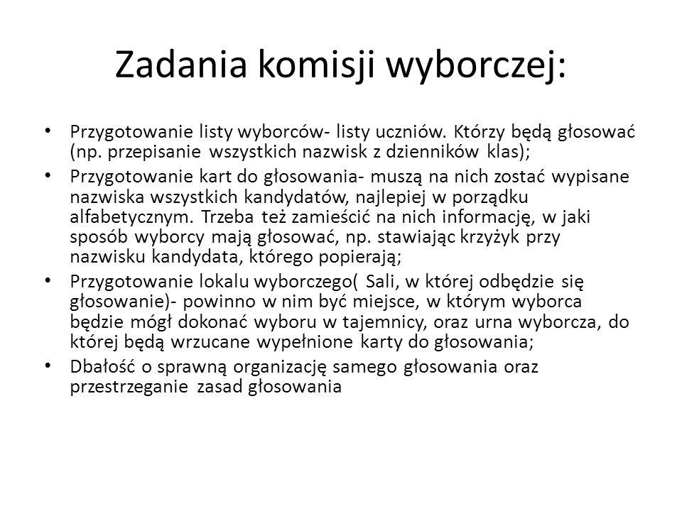Nowy model ustroju Samorządu Uczniowskiego w I Liceum Ogólnokształcącym z Oddziałami Integracyjnymi.