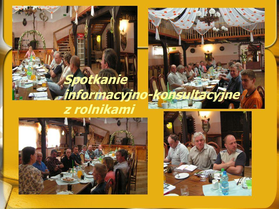 Spotkania z grupami społecznymi - w ramach bezpośredniego przekazywania informacji oraz konsultacji ustnych (SPOTKANIA terenowe) W ramach akcji popula