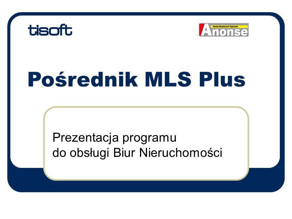 Prezentacja programu do obsługi Biur Nieruchomości Pośrednik MLS Plus