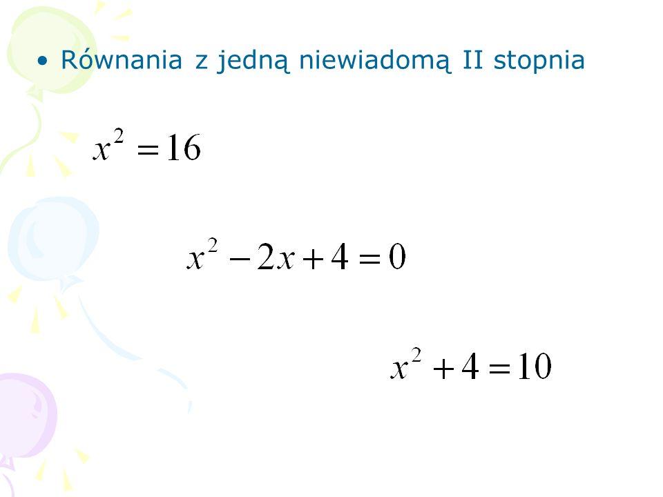Ułóż odpowiednie równanie do rysunku. x – waga jednej cegły 4x + 2 = x + 8