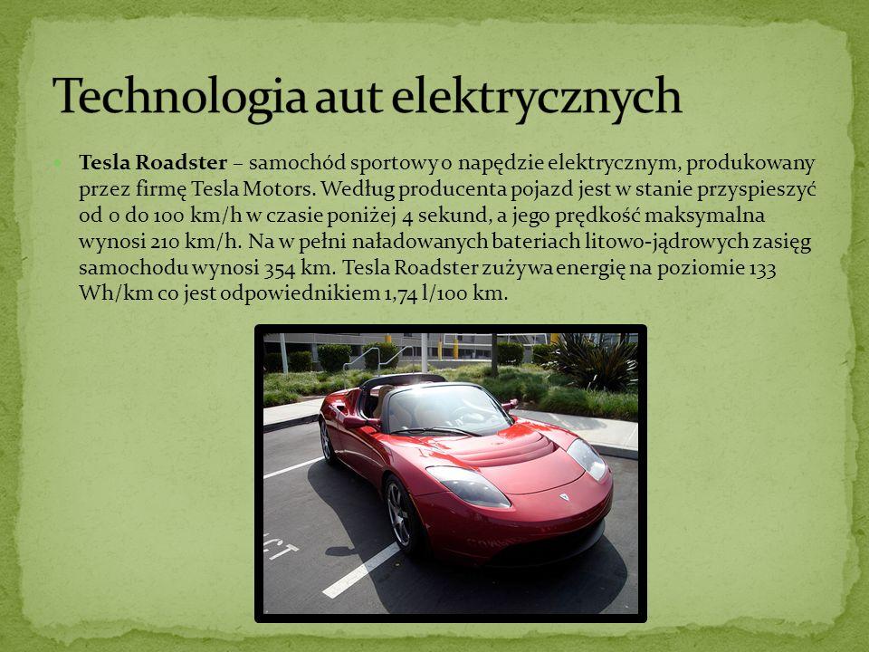Tesla Roadster – samochód sportowy o napędzie elektrycznym, produkowany przez firmę Tesla Motors.