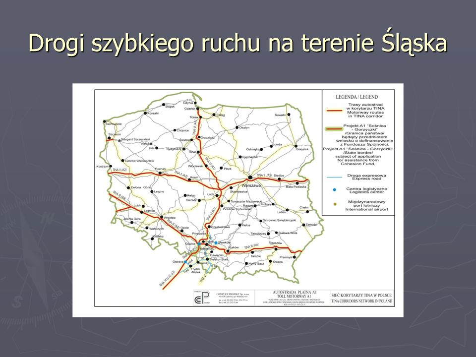 Drogi szybkiego ruchu na terenie Śląska