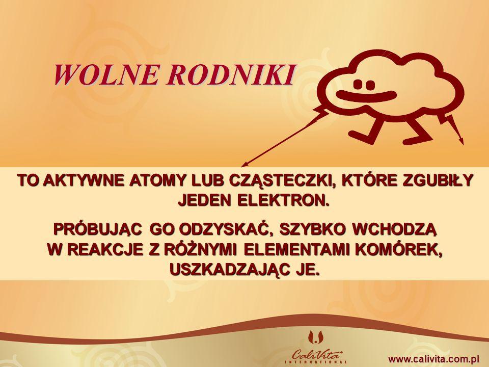 ZDROWIE SMAK SŁOŃCA - HARMONIA WEWNĘTRZNA WOLNE RODNIKI ANTYOKSYDANTY www.calivita.com.pl
