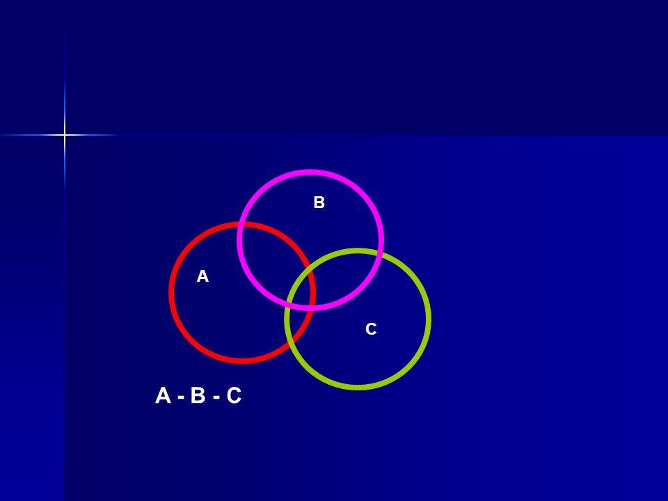 A B C A - B - C