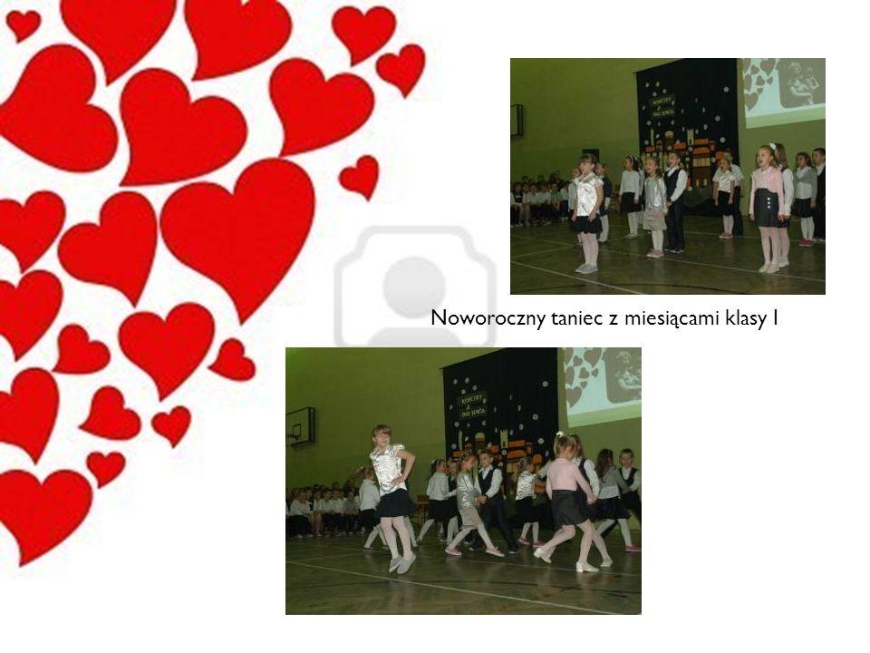 Noworoczny taniec z miesiącami klasy I