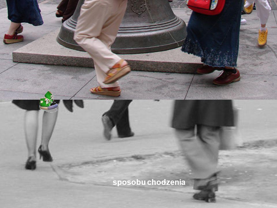 sposobu chodzenia