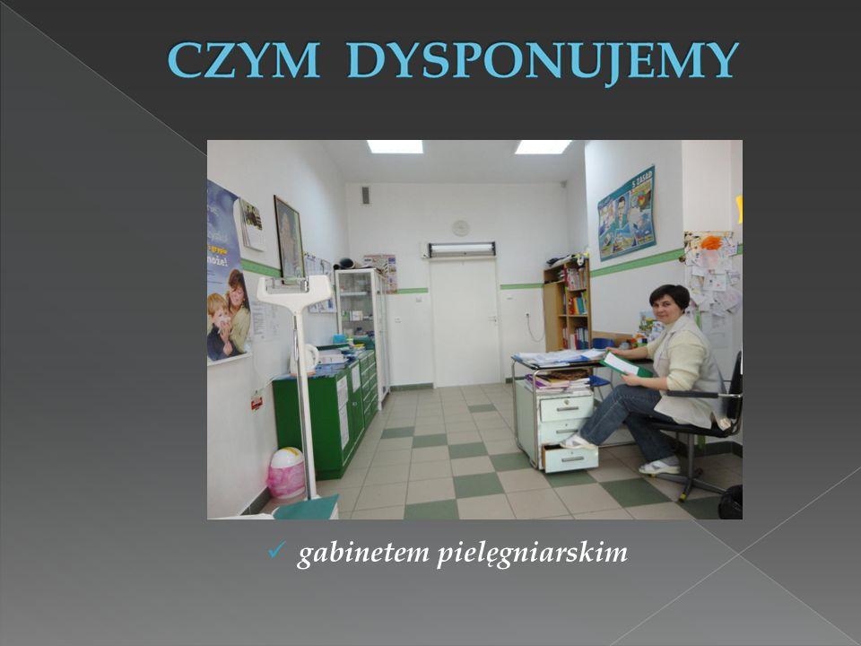 gabinetem pielęgniarskim