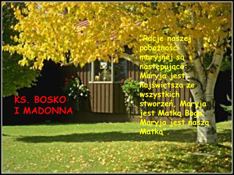 KS. BOSKO I MADONNA
