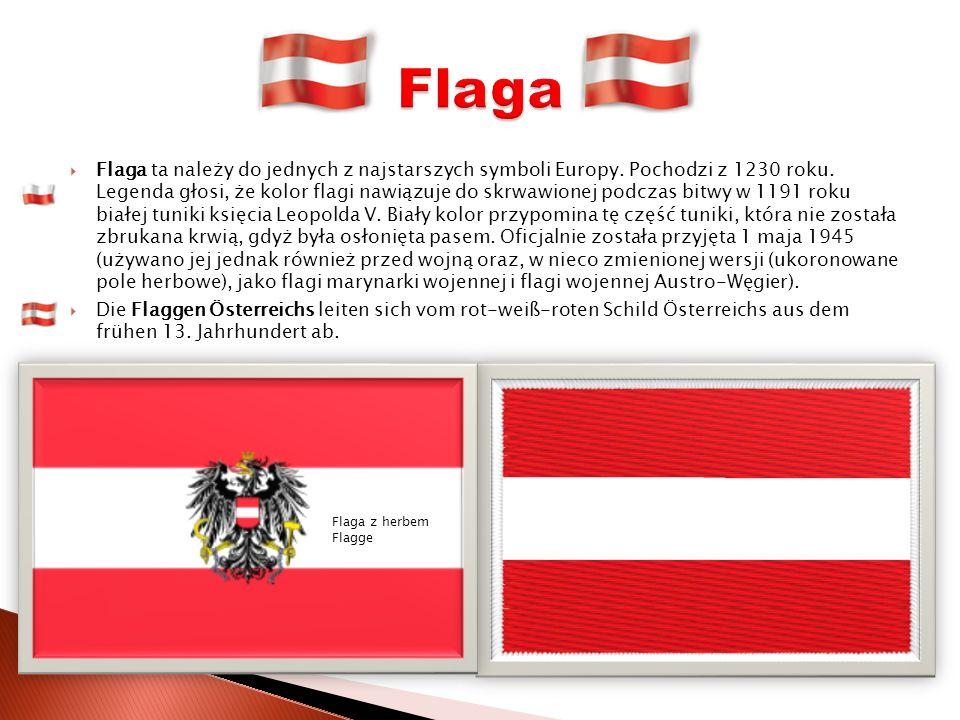 Flaga ta należy do jednych z najstarszych symboli Europy.