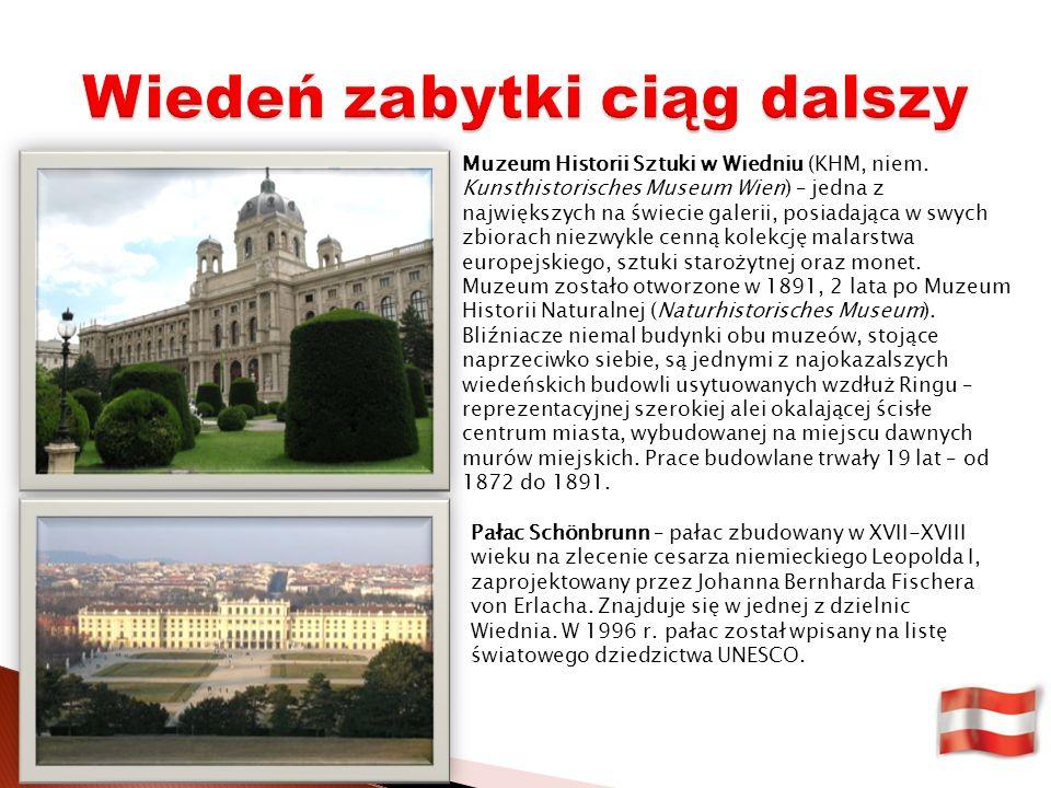 Muzeum Historii Sztuki w Wiedniu (KHM, niem.