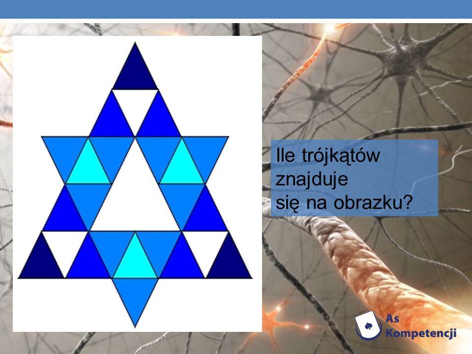 Ile trójkątów znajduje się na obrazku?