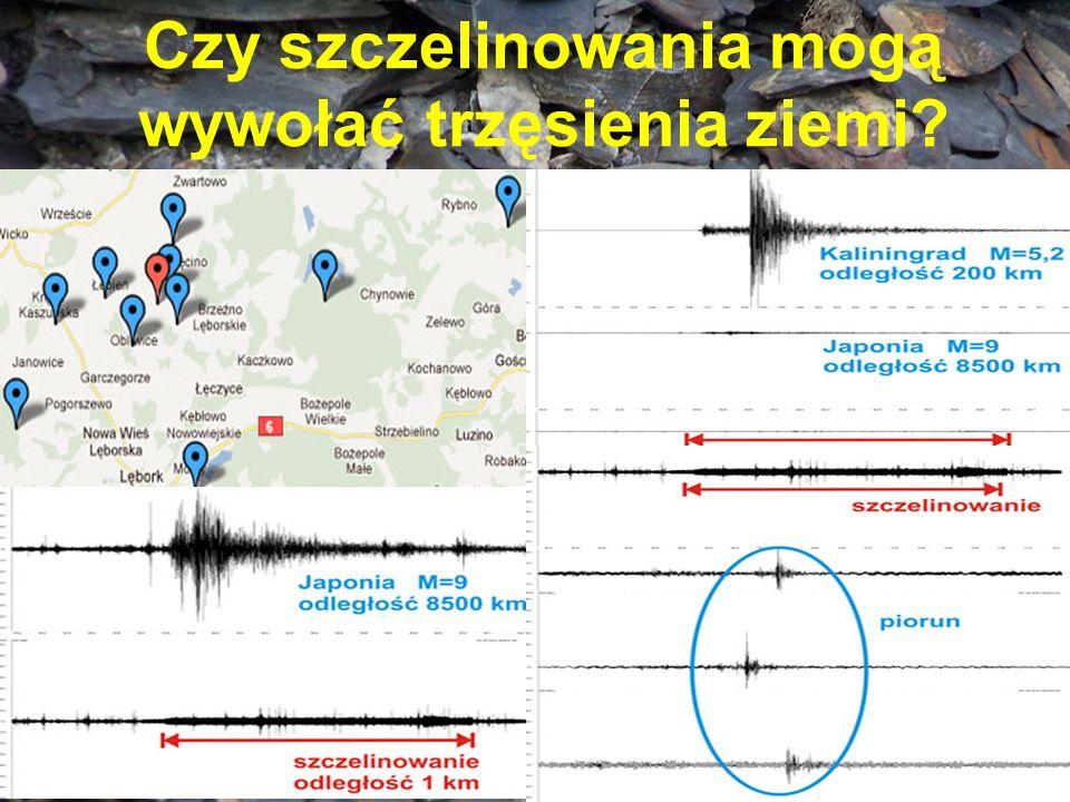Czy szczelinowania mogą wywołać trzęsienia ziemi?