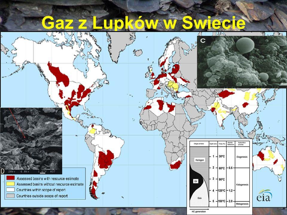 Gaz z Lupków w Swiecie