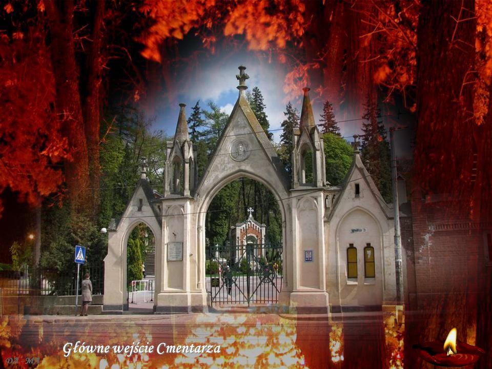 Główne wejście Cmentarza