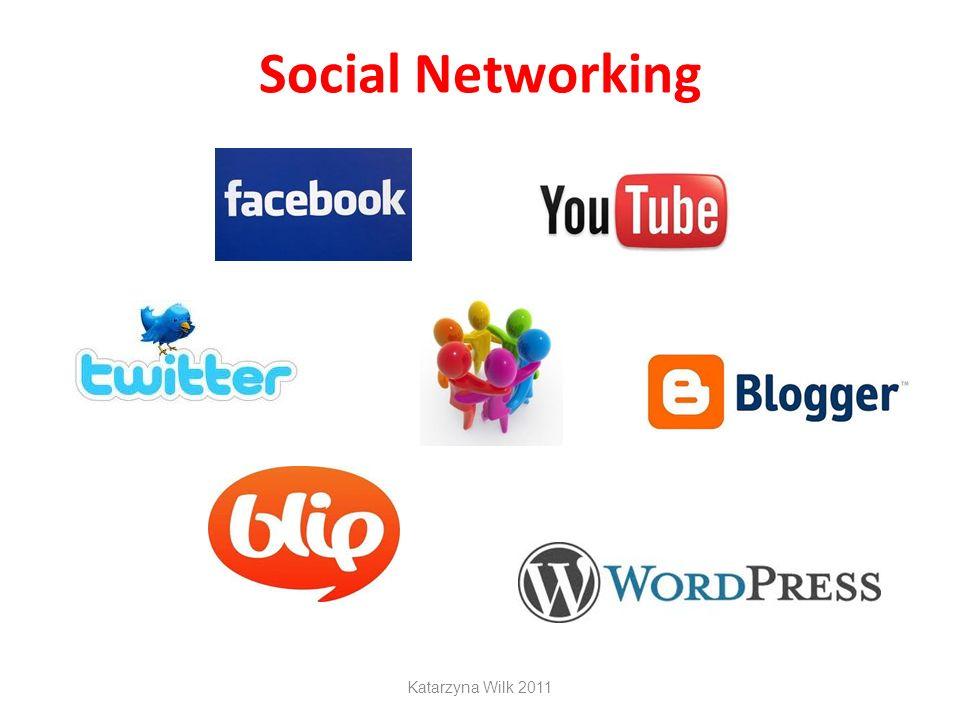 Social Networking Katarzyna Wilk 2011