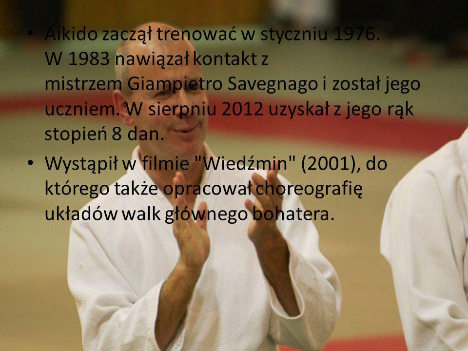 Aikido zaczął trenować w styczniu 1976. W 1983 nawiązał kontakt z mistrzem Giampietro Savegnago i został jego uczniem. W sierpniu 2012 uzyskał z jego
