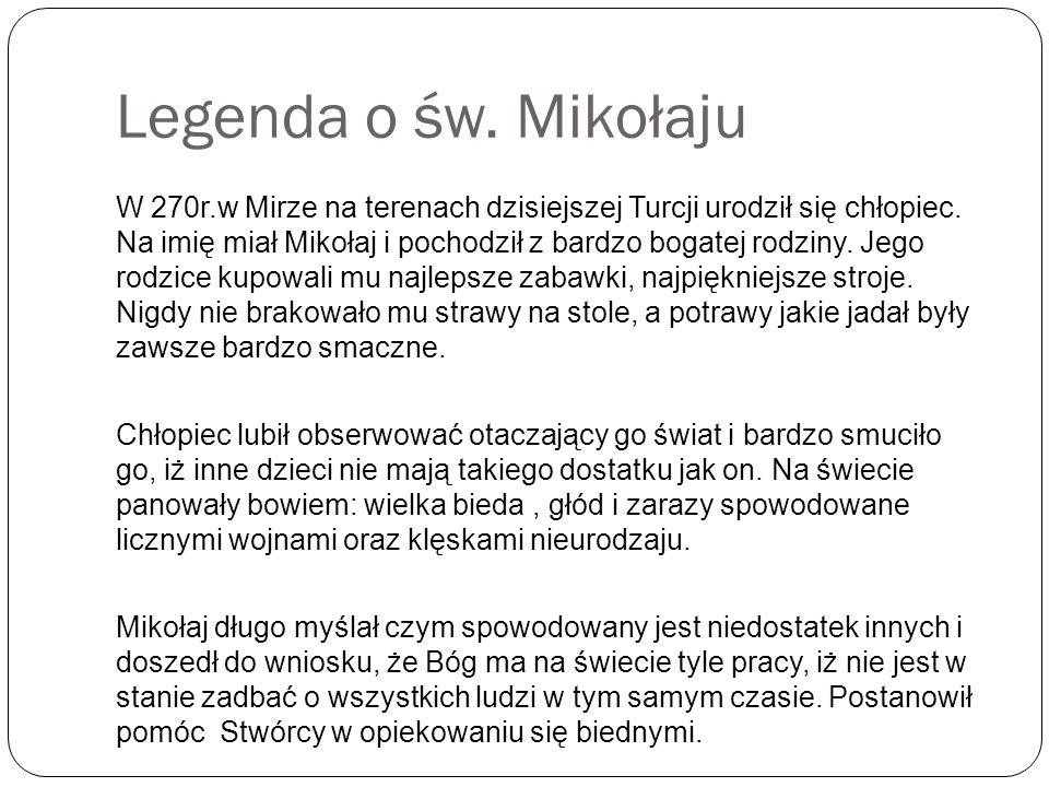 Sześć dowodów na istnienie Świętego Mikołaja 1.