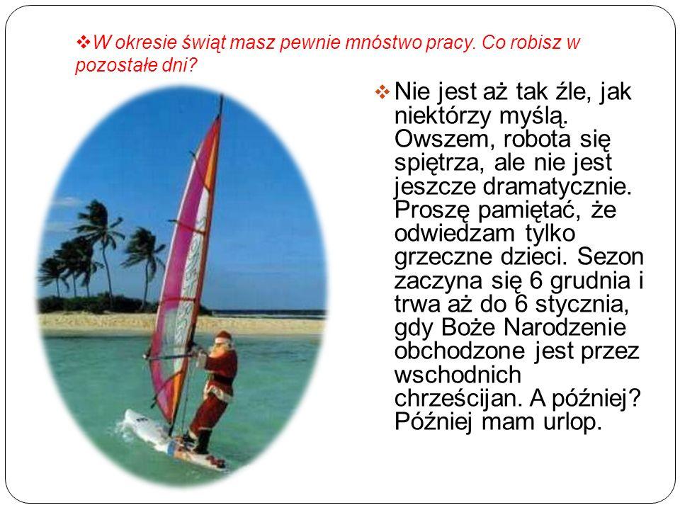 Czechy i Słowacja Tu Mikulas pojawia się 6 grudnia.