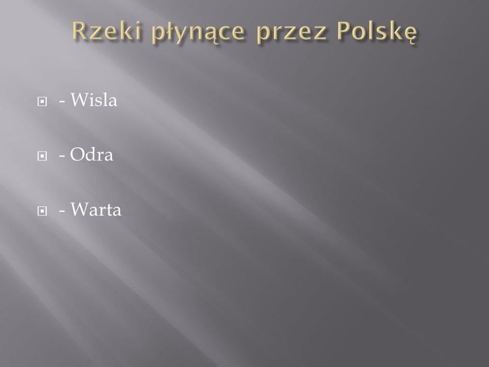 - Wisla - Odra - Warta