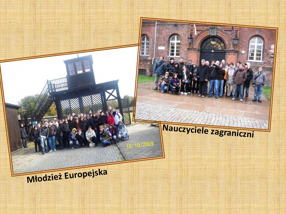 Młodzież Europejska Nauczyciele zagraniczni