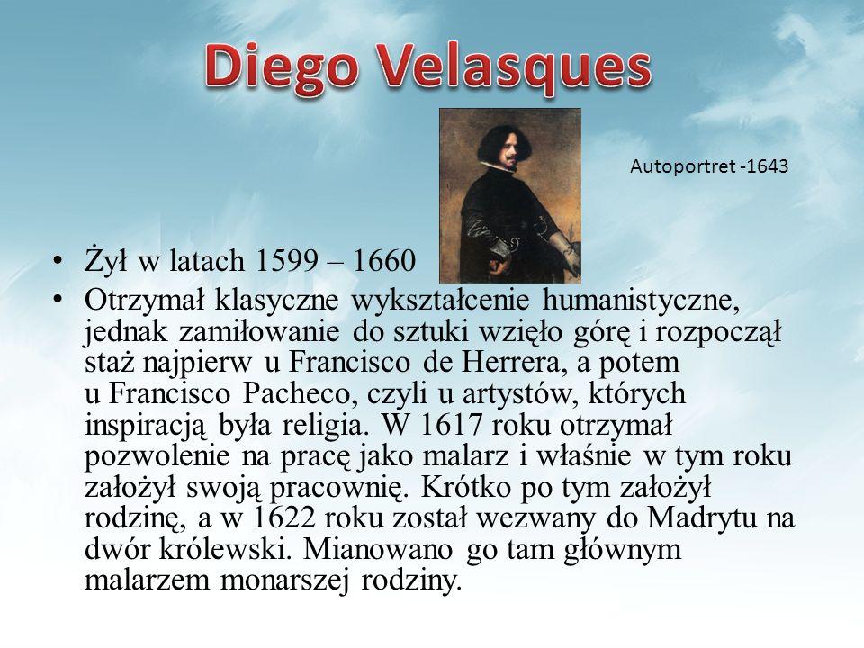 Żył w latach 1599 – 1660 Otrzymał klasyczne wykształcenie humanistyczne, jednak zamiłowanie do sztuki wzięło górę i rozpoczął staż najpierw u Francisc