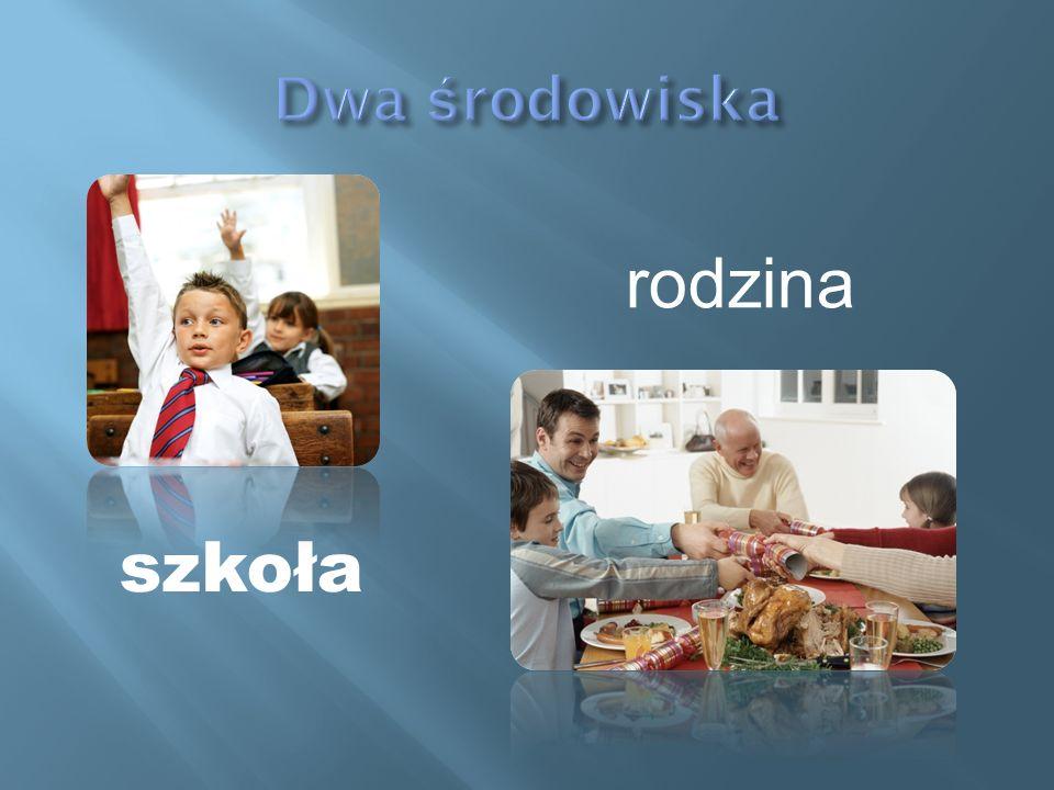 szkoła rodzina