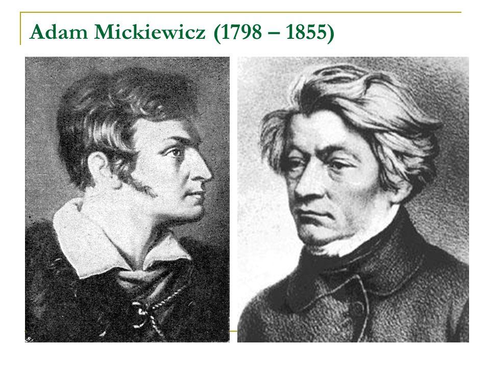 Juliusz Słowacki (1809-1849) Coś nad w grobie leżącą stał jak anioł złoty i krew i łzy jej wszystkie przemieniał w klejnoty.