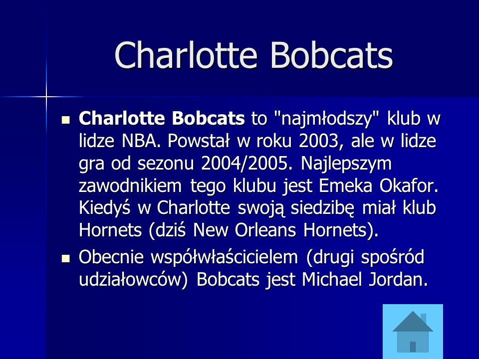 Charlotte Bobcats Charlotte Bobcats to