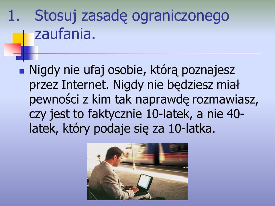 2.Chroń swoje dane osobowe.