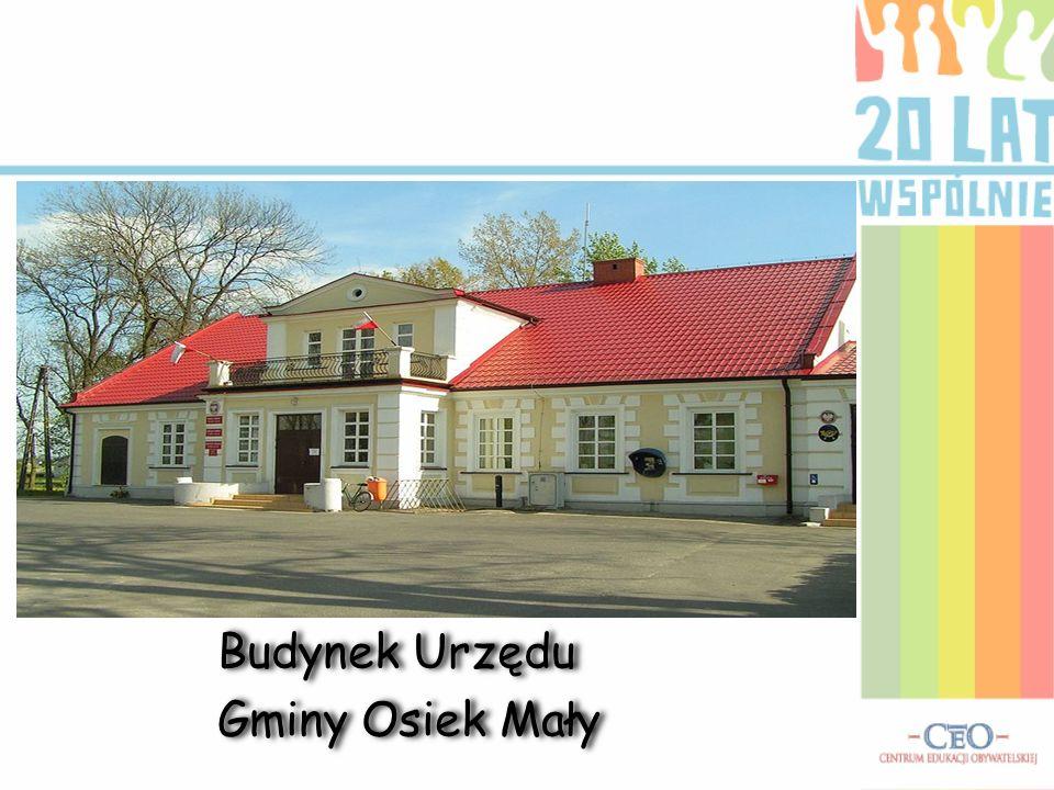 Opis Gminy Osiek Mały Gmina Osiek Mały jest położona w województwie wielkopolskim, w powiecie kolskim. Jest to gmina wiejska, a jej wójtem jest Marek