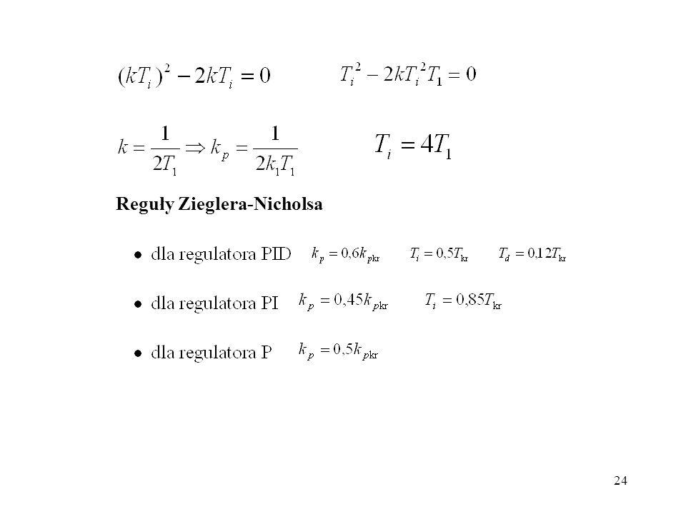24 Reguły Zieglera-Nicholsa