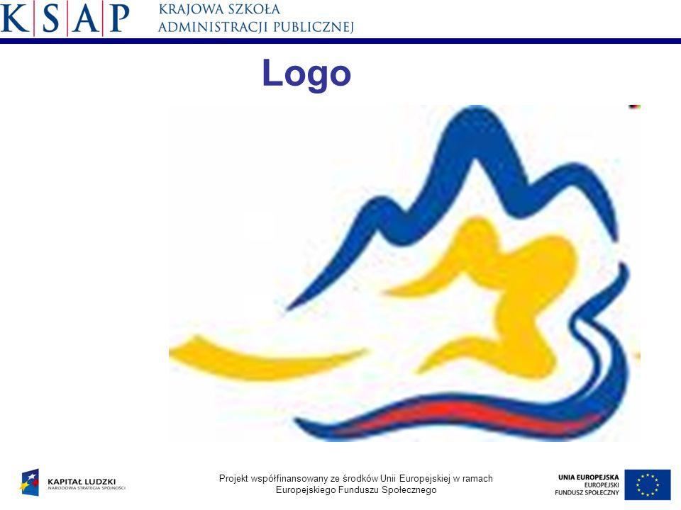 Logo Projekt współfinansowany ze środków Unii Europejskiej w ramach Europejskiego Funduszu Społecznego
