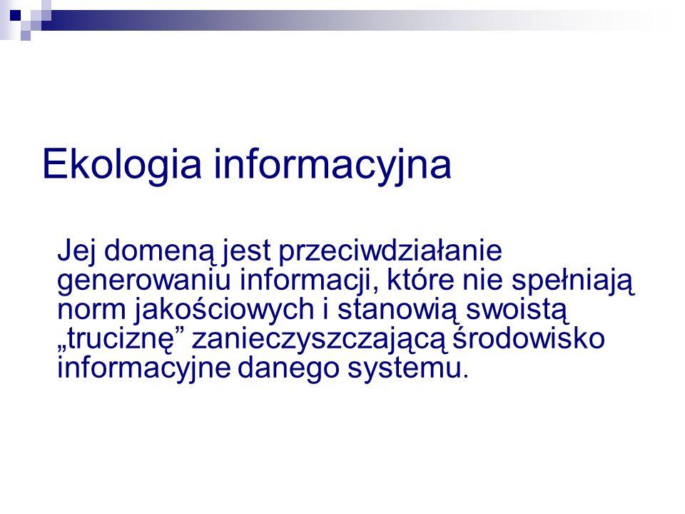 L.English wyróżnia inherentną i pragmatyczną jakość informacji.