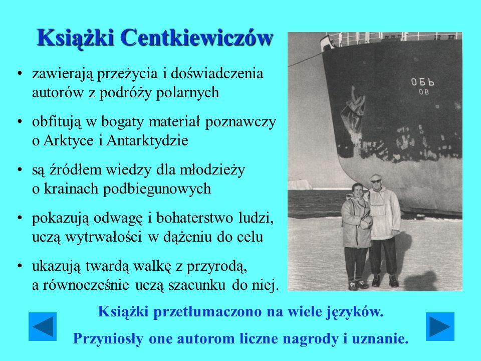Książki Centkiewiczów Czesław J.