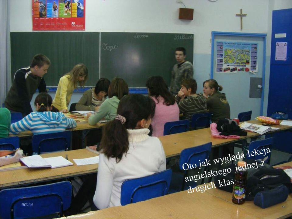 Oto jak wygląda lekcja angielskiego jednej z drugich klas