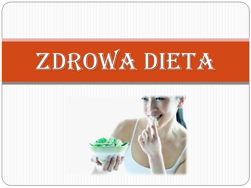 Zdrowa dieta nie może polegać na jedzeniu tylko szczególnych wybranych pokarmów, a unikaniu wielu innych.