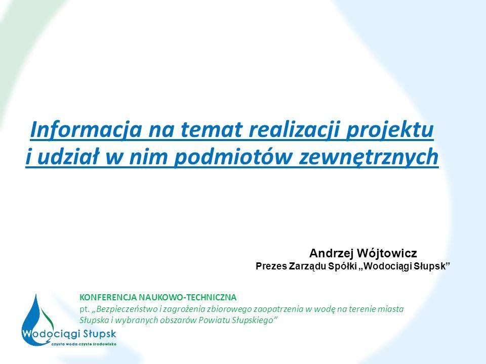 Informacja na temat realizacji projektu i udział w nim podmiotów zewnętrznych KONFERENCJA NAUKOWO-TECHNICZNA pt.