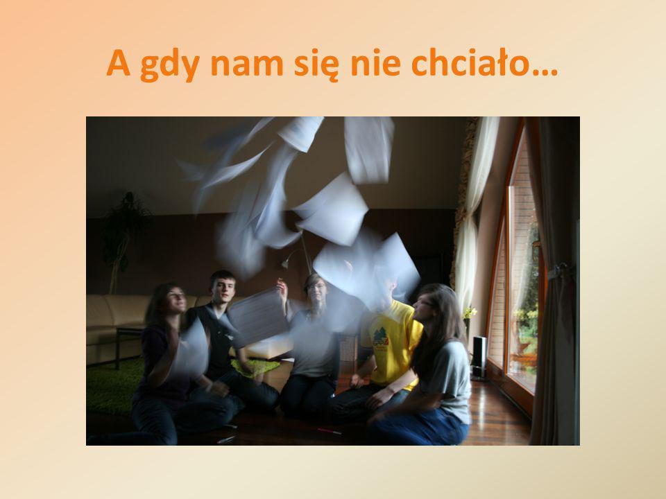 Pracowaliśmy ciężko…