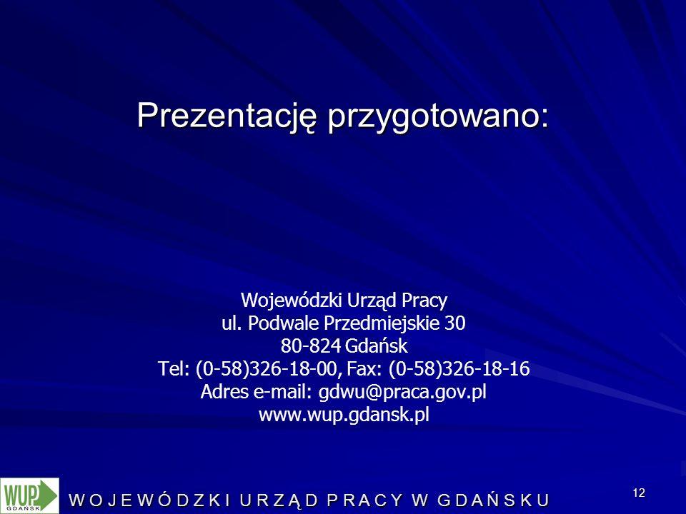 12 Wojewódzki Urząd Pracy ul.