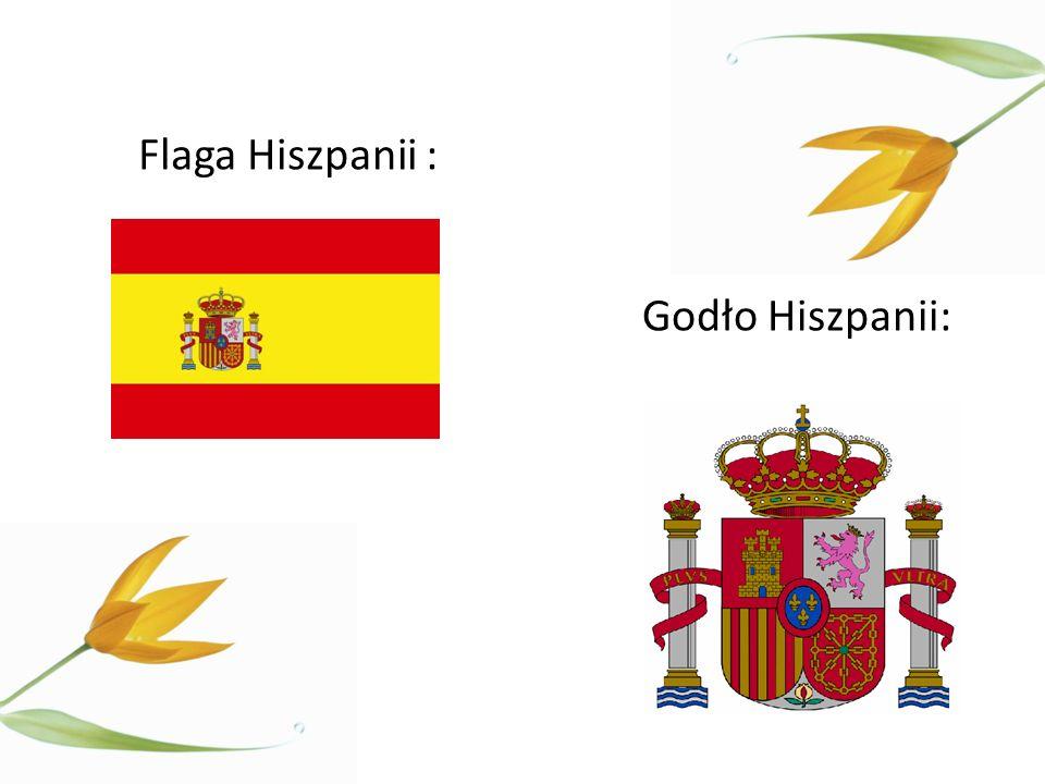 Godło Hiszpanii: Flaga Hiszpanii :