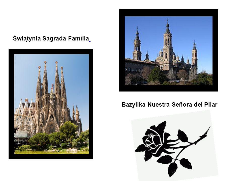 Bazylika Nuestra Señora del Pilar Świątynia Sagrada Família