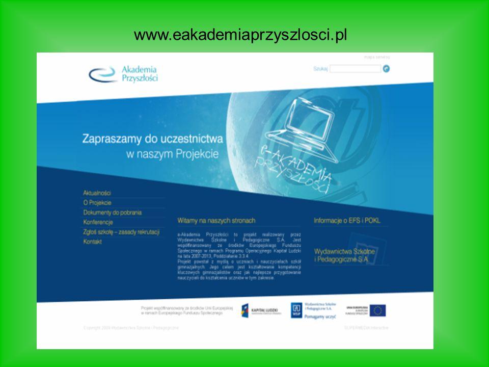 www.eakademiaprzyszlosci.pl