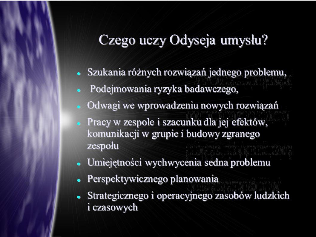 Czego uczy Odyseja umysłu.